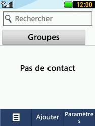 LG T580 - Contact, Appels, SMS/MMS - Ajouter un contact - Étape 4