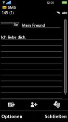 Sony Ericsson U5i Vivaz - MMS - Erstellen und senden - 3 / 3