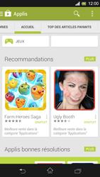 Sony Xpéria SP - Applications - Télécharger une application - Étape 5
