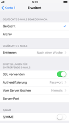 Apple iPhone 7 - iOS 12 - E-Mail - Manuelle Konfiguration - Schritt 22