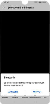 Huawei Y5 (2019) - Photos, vidéos, musique - Envoyer une photo via Bluetooth - Étape 9