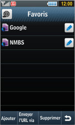 Samsung S8000 Jet - Internet - navigation sur Internet - Étape 10