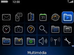 BlackBerry curve 3G - Photos, vidéos, musique - Ecouter de la musique - Étape 3