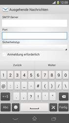 Sony Xperia Z1 Compact - E-Mail - Manuelle Konfiguration - Schritt 15