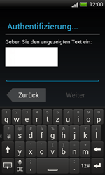 HTC One SV - Apps - Einrichten des App Stores - Schritt 13