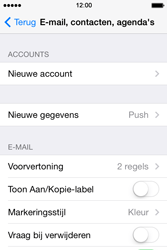 Apple iPhone 4 iOS 7 - e-mail - handmatig instellen - stap 4