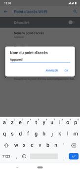 Nokia 6.2 - WiFi - Comment activer un point d'accès WiFi - Étape 8