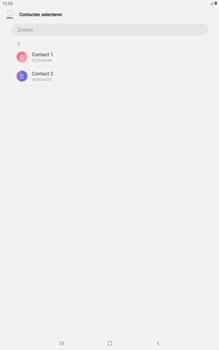 Samsung galaxy-tab-a-10-5-sm-t595-android-pie - Contacten en data - Contacten kopiëren van toestel naar SIM - Stap 9