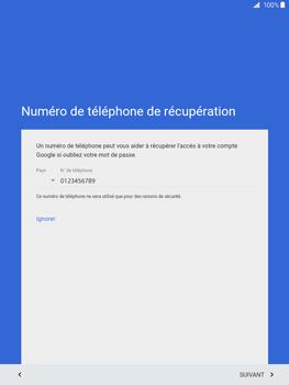 Samsung Galaxy Tab A - Premiers pas - Créer un compte - Étape 15