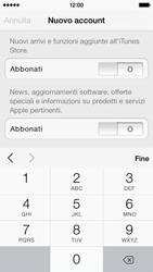 Apple iPhone 5s - Applicazioni - Configurazione del negozio applicazioni - Fase 17