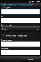 Sony Xperia Go - E-Mail - Konto einrichten - Schritt 11