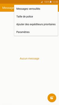 Samsung G928F Galaxy S6 edge+ - SMS - configuration manuelle - Étape 5