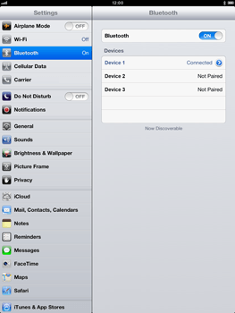 Apple iPad Retina - Bluetooth - connecting devices - Step 9
