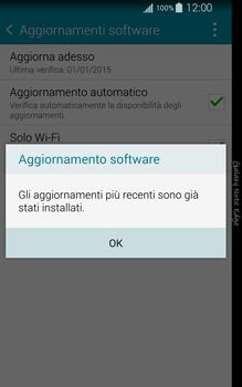 Samsung Galaxy Note Edge - Software - Installazione degli aggiornamenti software - Fase 10