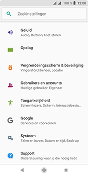Sony xperia-l3 - Software update - update installeren zonder PC - Stap 4