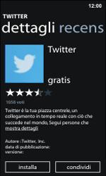 Nokia Lumia 800 / Lumia 900 - Applicazioni - Configurazione del negozio applicazioni - Fase 7
