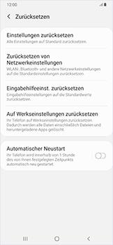 Samsung Galaxy A50 - Fehlerbehebung - Handy zurücksetzen - Schritt 8
