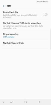 Samsung Galaxy Note9 - SMS - Manuelle Konfiguration - Schritt 8