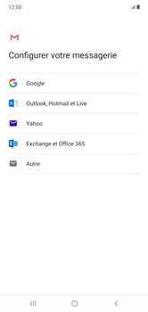 Samsung Galaxy Note 10+ - E-mails - Ajouter ou modifier votre compte Gmail - Étape 8