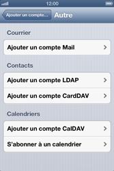 Apple iPhone 4 - E-mail - configuration manuelle - Étape 10