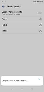 Huawei P20 - Rete - Selezione manuale della rete - Fase 10