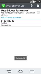 LG G2 mini - Anrufe - Anrufe blockieren - 11 / 12