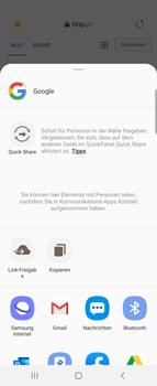 Samsung Galaxy Z flip - Internet und Datenroaming - Verwenden des Internets - Schritt 21