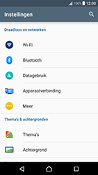 Sony Xperia XZ Premium - WiFi - Handmatig instellen - Stap 5