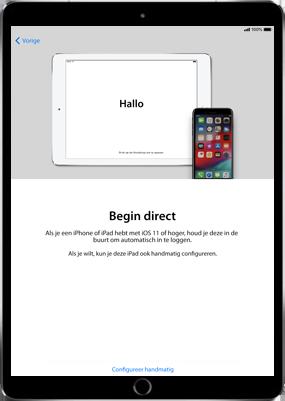 Apple ipad-9-7-inch-6th-generation-model-a1954-ios-12 - Instellingen aanpassen - Activeer het toestel en herstel jouw iCloud-data - Stap 8