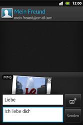 Sony Xperia Go - MMS - Erstellen und senden - 17 / 19