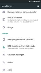 HTC 10 - Toestel reset - terugzetten naar fabrieksinstellingen - Stap 4