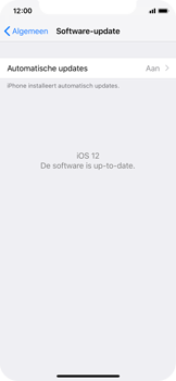 Apple iPhone X - iOS 12 - Toestel - Software update - Stap 7