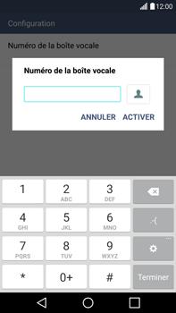 LG H815 G4 - Messagerie vocale - configuration manuelle - Étape 9