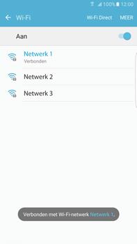 Samsung Samsung Galaxy S6 Edge+ (Android M) - wifi - handmatig instellen - stap 8