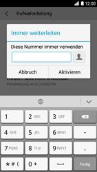 Huawei Ascend G6 - Anrufe - Rufumleitungen setzen und löschen - 7 / 9