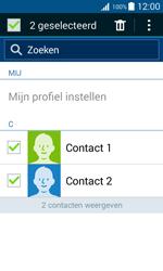 Samsung G388F Galaxy Xcover 3 - Contactgegevens overzetten - delen via Bluetooth - Stap 7