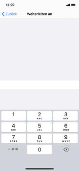Apple iPhone X - iOS 13 - Anrufe - Rufumleitungen setzen und löschen - Schritt 7