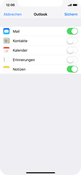 Apple iPhone X - E-Mail - Konto einrichten (outlook) - 9 / 12