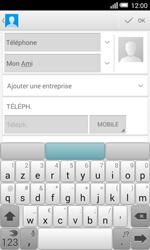 Alcatel OT-5050X Pop S3 - Contact, Appels, SMS/MMS - Ajouter un contact - Étape 8