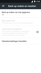 Nokia 5 - Toestel reset - terugzetten naar fabrieksinstellingen - Stap 5