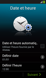 Samsung Galaxy Ace 3 - Premiers pas - Créer un compte - Étape 5