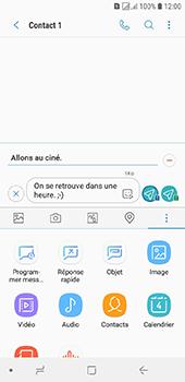 Samsung Galaxy J6 - Contact, Appels, SMS/MMS - Envoyer un MMS - Étape 14