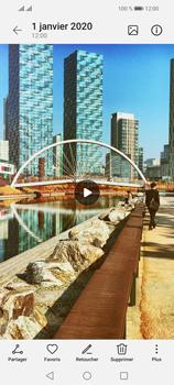 Huawei P Smart 2021 - Photos, vidéos, musique - Créer une vidéo - Étape 16