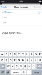 Apple iPhone 6 iOS 8 - E-mails - Envoyer un e-mail - Étape 6