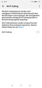 Huawei P20 - Android Pie - WiFi - WiFi Calling aktivieren - Schritt 7