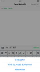 Apple iPhone 6 Plus - MMS - Erstellen und senden - 1 / 1