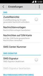 Huawei Ascend Y530 - SMS - Manuelle Konfiguration - Schritt 8