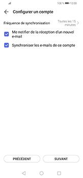Huawei P30 lite - E-mails - Ajouter ou modifier un compte e-mail - Étape 18