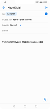 Huawei Nova 3 - E-Mail - E-Mail versenden - 7 / 17