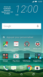 HTC One M9 - Applications - Personnaliser l